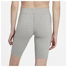 Велошорты женские Nike Sportswear Essential Bike Shorts CZ8526-063 Серый, фото 3