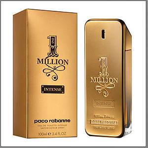 Paco Rabanne 1 Million Intense туалетная вода 100 ml. (Пако Рабанна 1 Миллион Интенс)