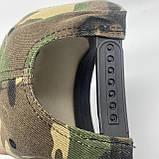 Кепка с прямым козырьком реперка Бэтмэн хаки военная, фото 2