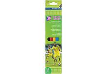 Олівці кольорові пластикові, 6 кольорів