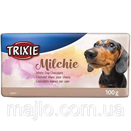 """Шоколад для собак Trixie """"Milchie"""" белый 100гр 2972"""