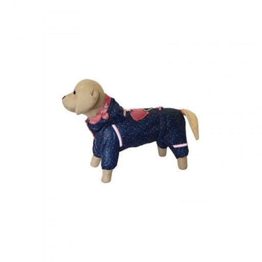 Комбинезон зимний FiFa (ФиФа)  на меху для собак Варежка ХХS (A22/B25-31см)