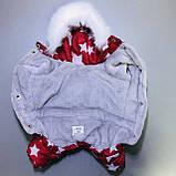 Комбінезон зимовий FiFa (Фіфа) на хутрі для собак Галактика XXS (А22/В25-31см), фото 3
