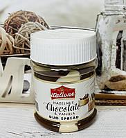 Горіхова шоколадна паста з ваніллю ITALIONE, фото 1