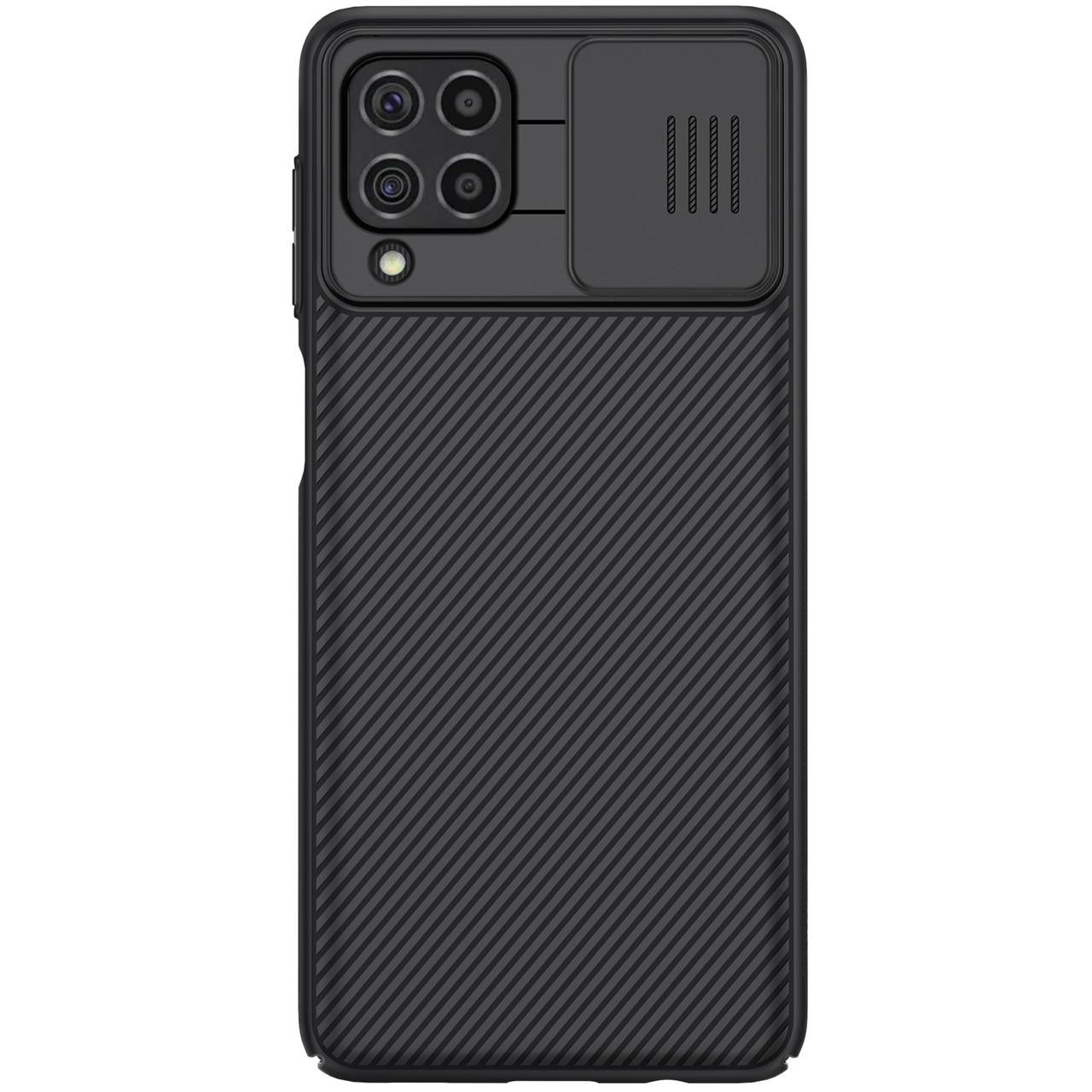 Захисний чохол Nillkin для Samsung Galaxy F62 / M62 (CamShield Pro Case) Black з захистом камери