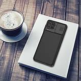 Захисний чохол Nillkin для Samsung Galaxy F62 / M62 (CamShield Pro Case) Black з захистом камери, фото 6
