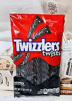 Конфеты желейные со вкусом лакрици TWIZZLERS