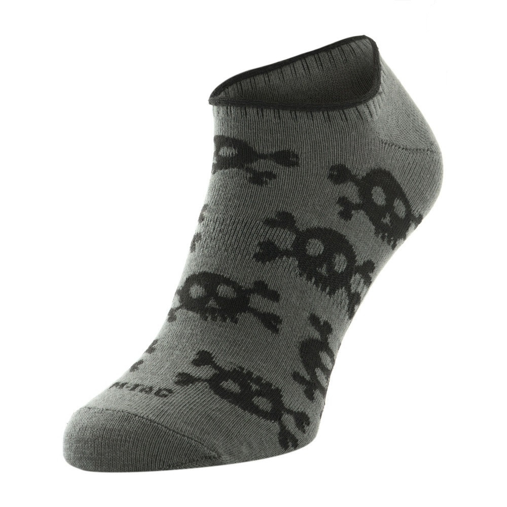 M-Tac носки летние легкие Pirate Skull Dark Grey