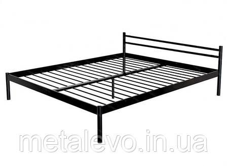 Металлическая кровать КОМФОРТ ТМ Метакам, фото 2