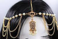 Чудове східне прикраса для волосся Тіара, Тика №15, фото 1