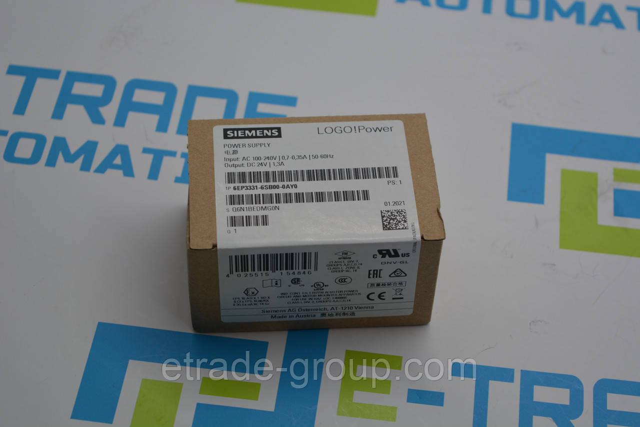 Блок питания Siemens 6EP3331-6SB00-0AY0