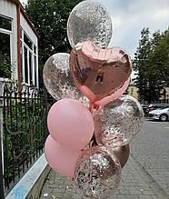Кульки в рожевих відтінках