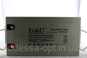 Гелієвий акумулятор АКУМУЛЯТОР 12V 250A UKC (Реальна ємність -40% = 150А), фото 2