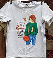 Футболка для дівчинки 13-16 років опт (пр. Туреччина)