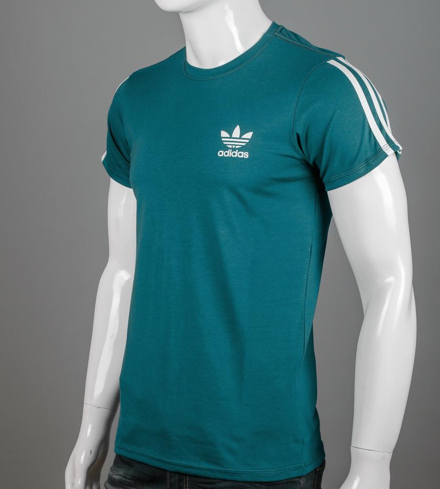 Футболка чоловіча Adidas (2123м), Смарагдовий