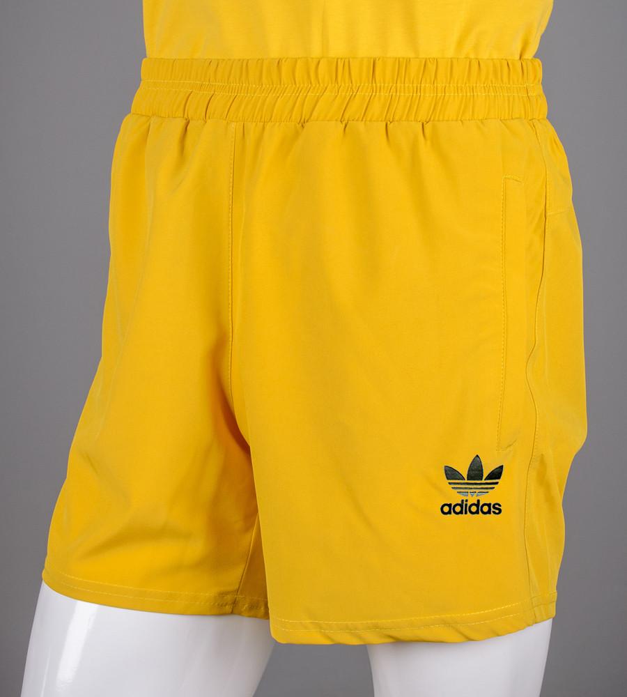 Шорти чоловічі спортивні Nike (ШП01), Гірчиця
