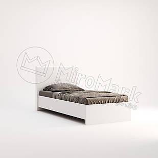 Кровать односпальная Фэмили с каркасом Белый глянец ТМ МироМарк