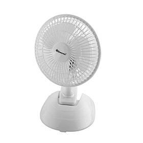 """Настільний вентилятор MS-1623 Fan 6"""" (2в1 підставка + прищіпка)"""