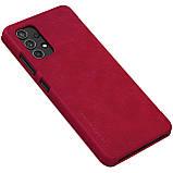 Защитный чехол-книжка Nillkin для Samsung Galaxy A32 4G (Qin leather case) Red Красный, фото 6
