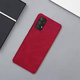 Защитный чехол-книжка Nillkin для Samsung Galaxy A32 4G (Qin leather case) Red Красный, фото 9