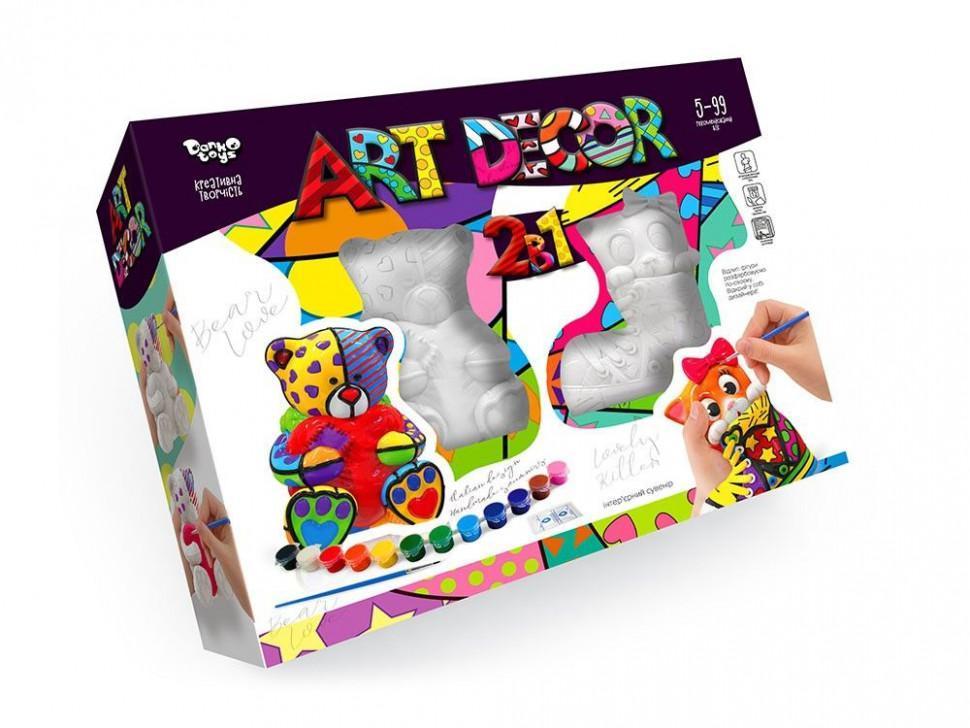 Набор креативного творчества ART DECOR 2в1 укр. ARTD-02-01U
