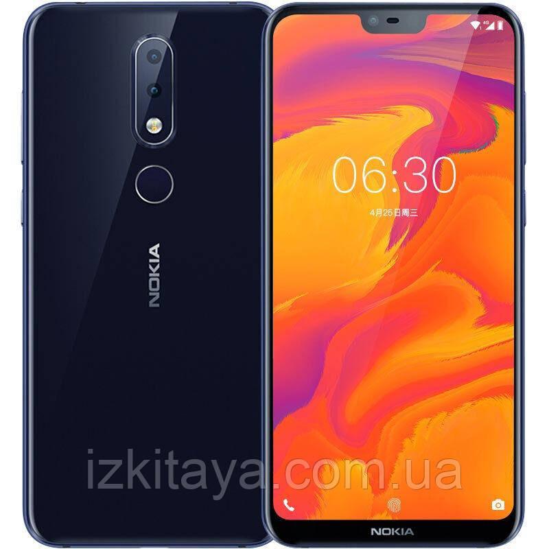 Смартфон Nokia X6 TA-1099 4/64Gb blue