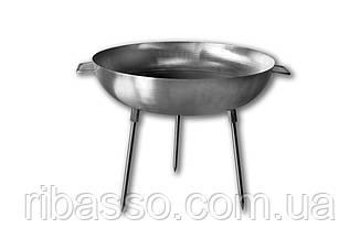 Сковорода (Диск) для пікніка з нержавіючої сталі (60 див)