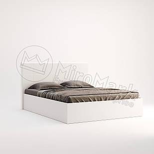 Кровать Фэмили подъемная с каркасом Белый глянец ТМ МироМарк