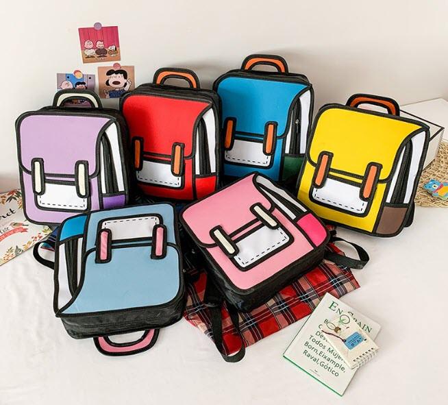 Оригинальные 2Д 2D рюкзаки