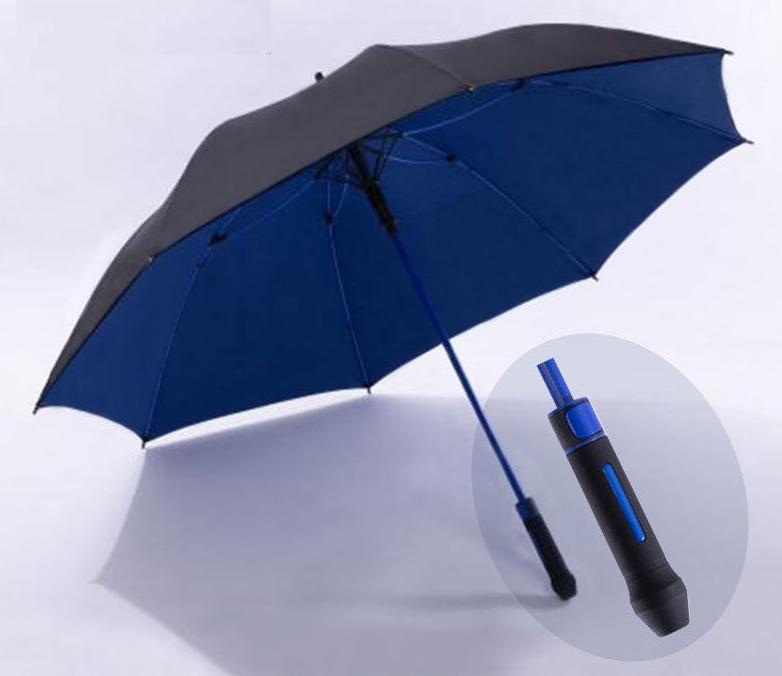 Стильний великий зонт трость, противоштормовой