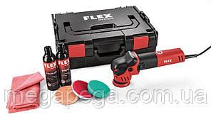 FLEX XFE 7-12 80 P-Set, Эксцентриковая полировальная машина для небольших площадей