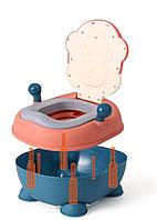 Детский горшок Обезьяна Babyhood BH-206 розовый