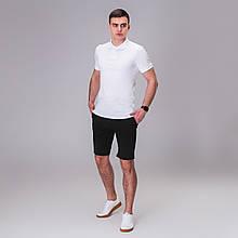 Чоловічий комплект футболка+ шорти Pobedov Summer Look бел/черн