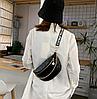 Стильная стеганная сумка на пояс  Бананка, фото 5