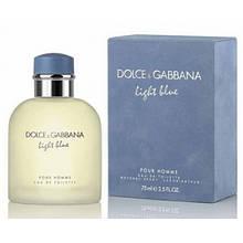 Туалетная вода Dolce Gabbana Light Blue pour Homme EDT 125 ml (лиц.), мужская