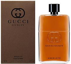 Парфюмированная вода Gucci Guilty Absolute pour Homme EDP 90 ml (лиц.), мужская