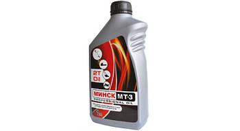 Масло для двухтактных двигателей МИНСК МТ-3 п/синт., 1л