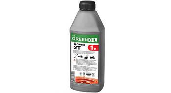 Масло для двухтактных двигателей Green OIL п/синт., 1л