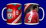 Кружка футбольная / чашка с принтом футбол ФК Ливерпуль №3, фото 2