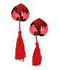 Стикини с кисточкой красные, фото 2