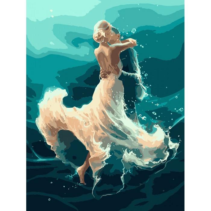Картина за номерами - На хвилі танцю УЦІНКА
