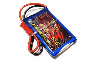 Акумулятор для радіокерованої моделі Dinogy Li-Pol 450 маг 3.7 В 53x30x8 мм JST