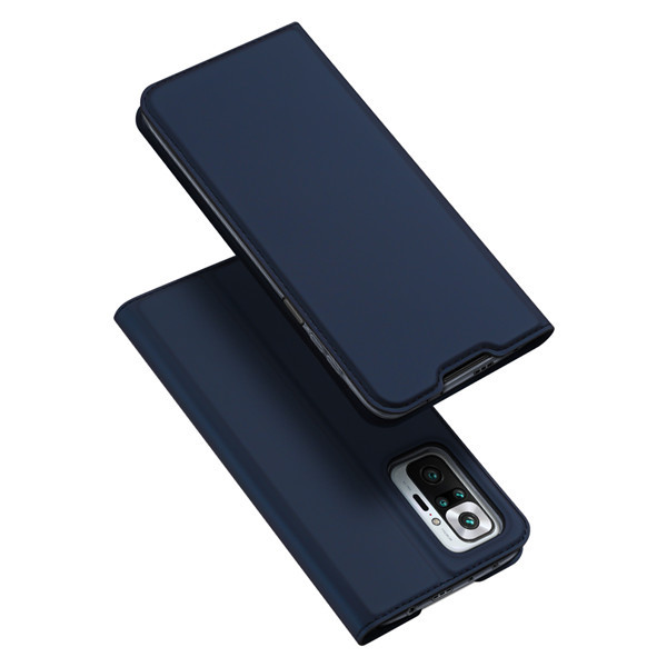 Захисний чохол-книжка Dux Ducis для Xiaomi Redmi Note 10 Pro / 10 Pro Max (Skin Pro Series) Case Blue