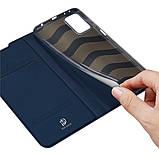 Захисний чохол-книжка Dux Ducis для Xiaomi Redmi Note 10 Pro / 10 Pro Max (Skin Pro Series) Case Blue, фото 2