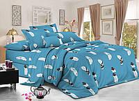 Комплект постельного белья 3Д полуторный размер Бязь Беларусь арт. Листья ловец снов