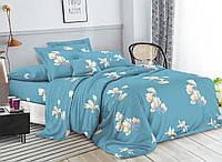 Комплект постельного белья 3Д полуторный размер Бязь Беларусь арт. Цветочек