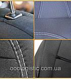 Авточехлы Skoda Fabia МКII 2007-2014 (з/сп. цельная делённая )Nika шкода, фото 9