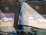 Авточехлы Skoda Fabia МКII 2007-2014 (з/сп. цельная делённая )Nika шкода, фото 2