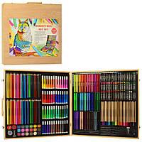 Детский набор для творчества и рисования MK 4534-1 в чемодане Royaltoys