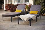 Шезлонг Allibert by Keter Jaipur Sun Lounger with Cushion з матрацом, фото 10